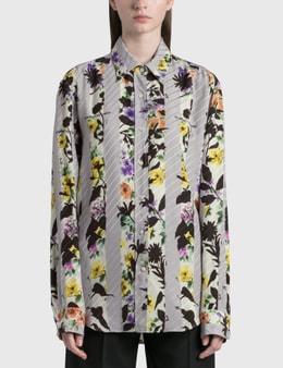 Off-White Stripes Bowling Shirt