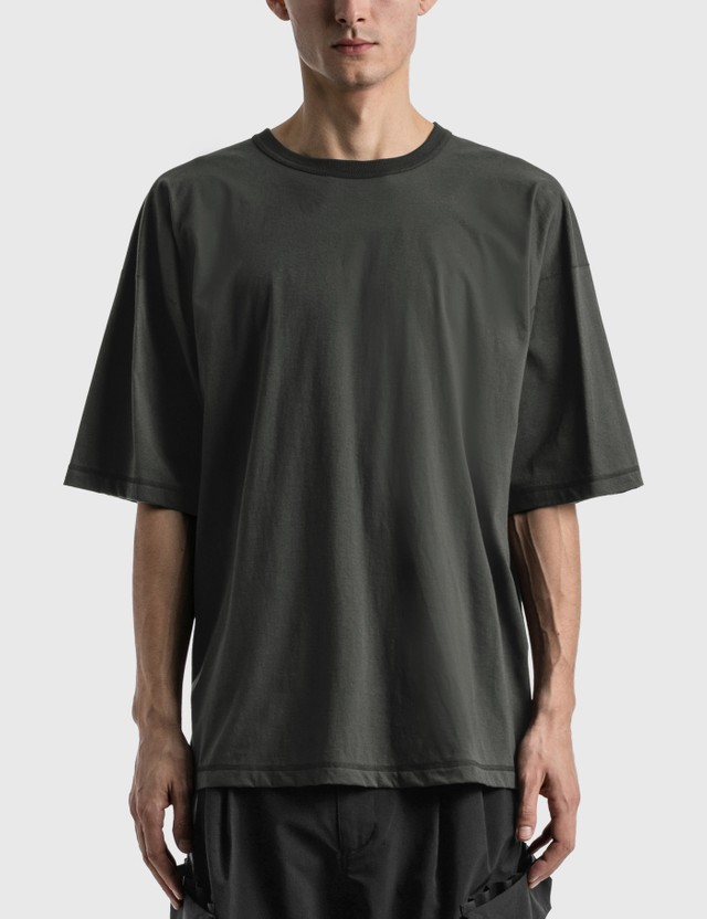Meanswhile Double Sided T-shirt Chacoal Men