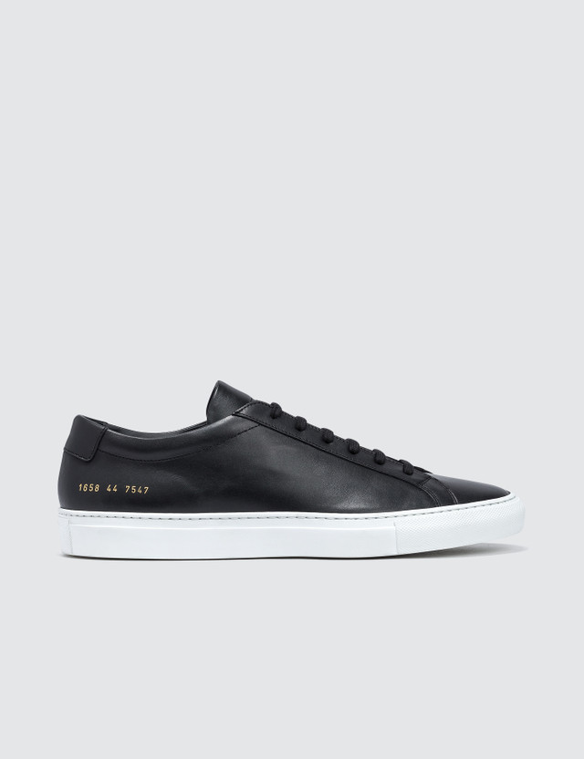 Common Projects Orignal Achilles Low with White Sole