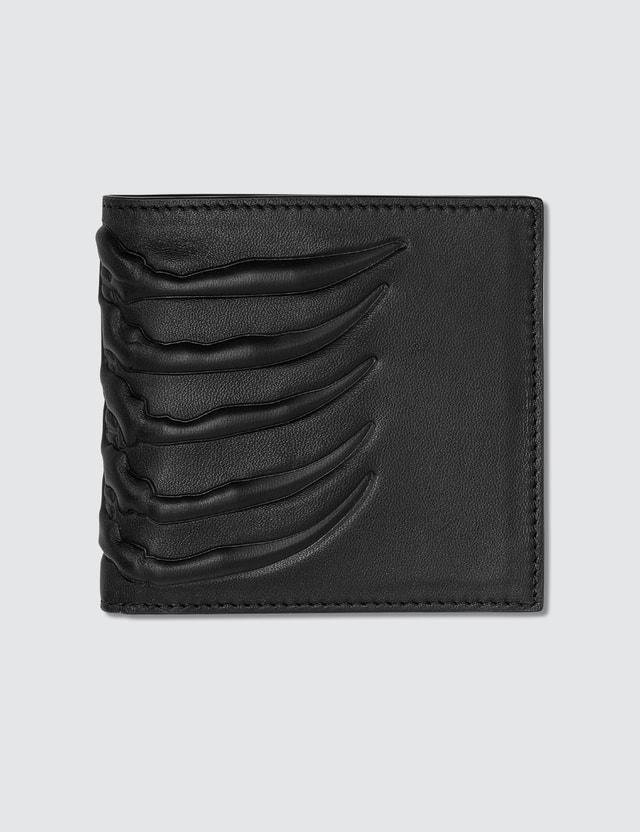 Alexander McQueen Rib Cage Billfold Wallet
