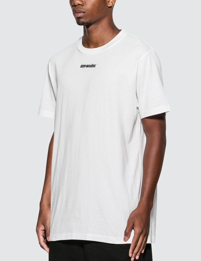 Off-White Marker Arrow T-Shirt White Blue Men