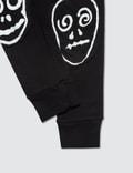 NUNUNU Skull Mask Patch Leggings