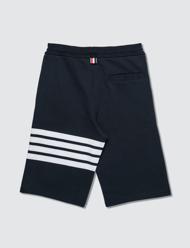 Thom Browne Classic 4-Bar Stripe Sweat Shorts Navy Men