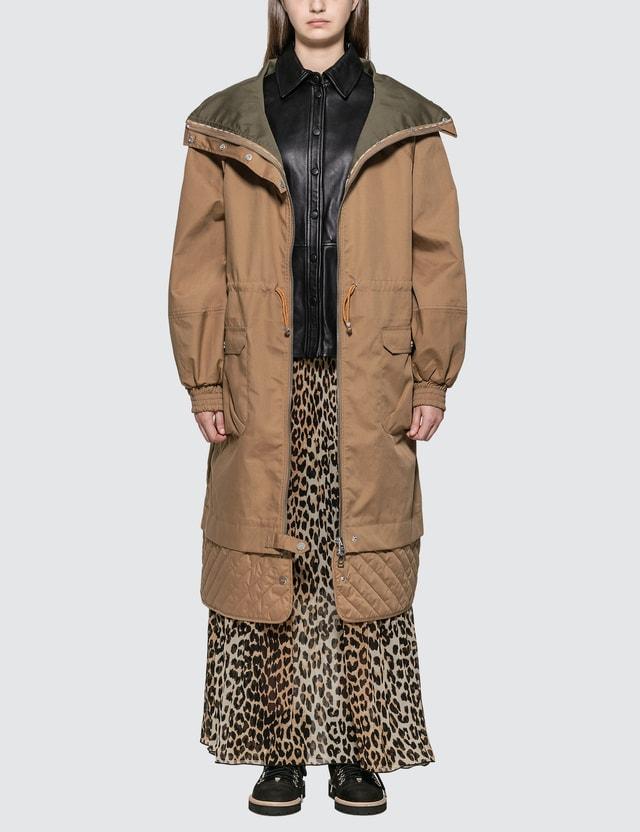 Ganni Double Cotton Jacket