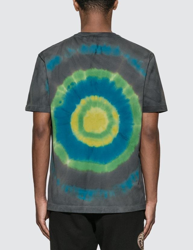 Versace Tie-Dye Medusa T-Shirt Verde+multicolor Men