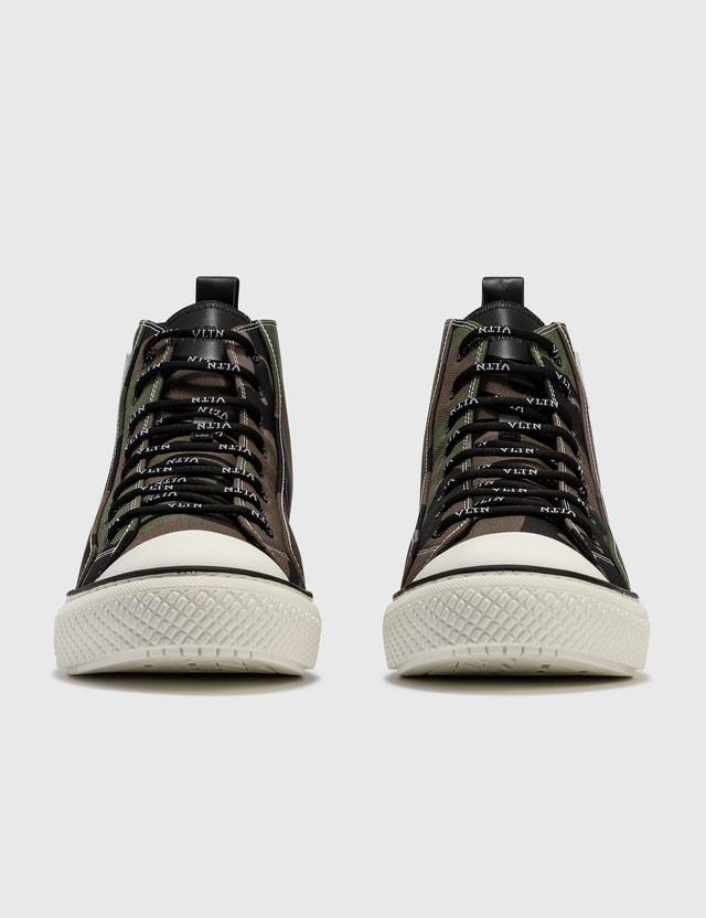 Valentino Valentino Garavani Camo High-Top Sneaker