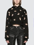 Fiorucci All Over Angels Cropped Hoodie 사진