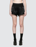 Alexander Wang Heavy Draped Satin With Ribcombo Shorts Picture