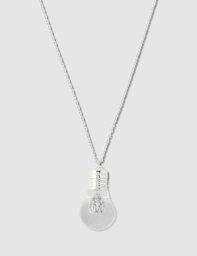 Ambush Light Bulb Charm Necklace