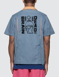 Brain Dead Logo Back Bowling Shirt