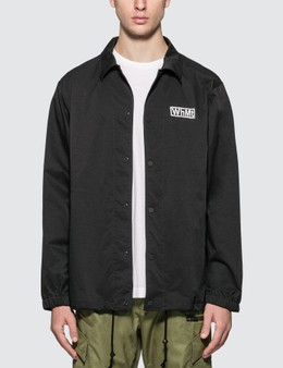 White Mountaineering WhMt Printed Coach Jacket