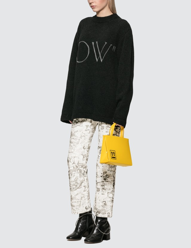 Off-White OW Knit Oversize Sweater