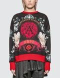 Alexander McQueen Floral Baroque Print Sweatshirt Picutre