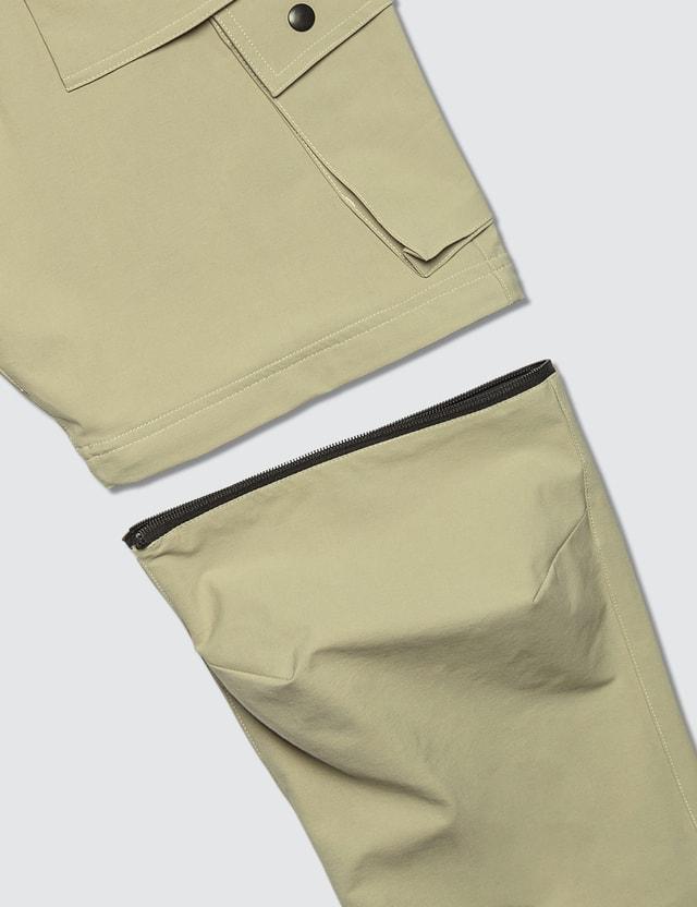 Guerrilla-group Two-way Cargo Pants in Khaki