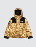 Supreme Supreme x The North Face Metallic Collection Gold Jacket Picutre