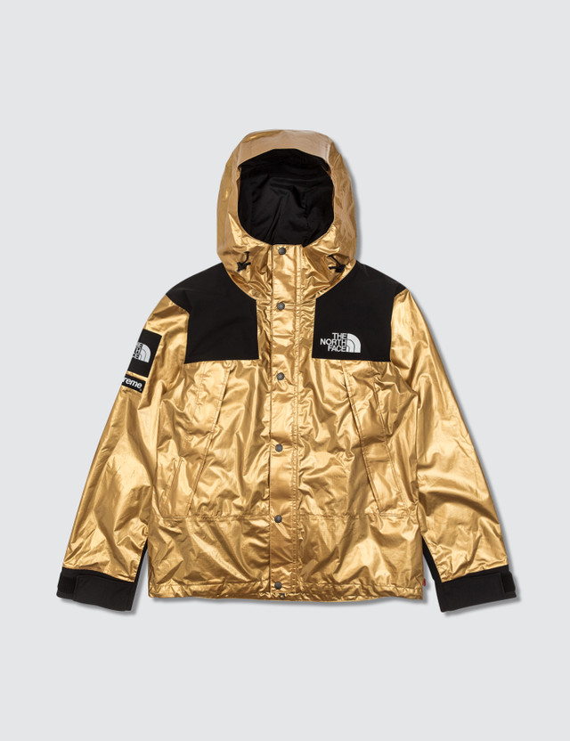 Supreme Supreme x The North Face Metallic Collection Gold Jacket