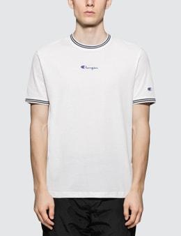 Champion Reverse Weave Rib Neckline S/S T-Shirt