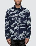 Valentino Denim Camo Shirt Picture