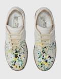 Maison Margiela Replica Paint Drop Sneakers White / Mix Color 2 Women