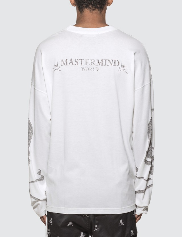 Mastermind World Skull Print Long Sleeve T-shirt
