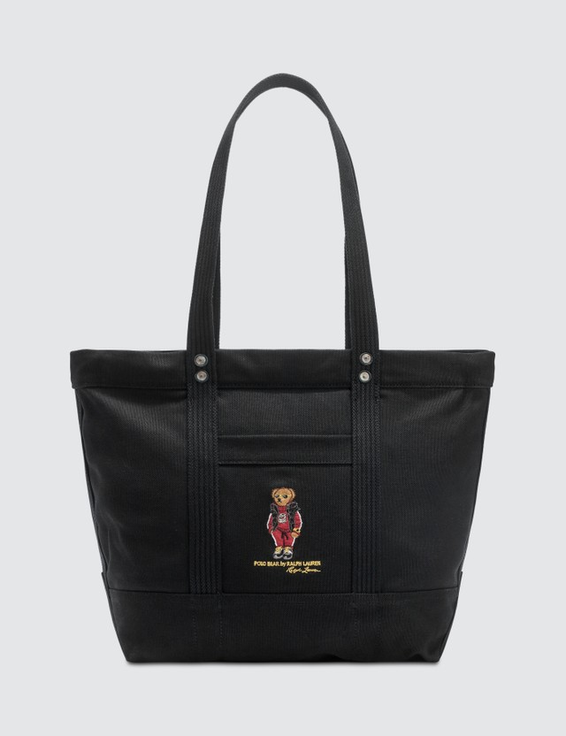 Polo Ralph Lauren Embroidered Polo Bear Tote Bag