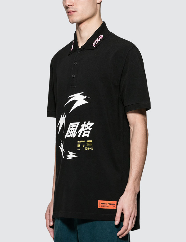 Heron Preston Herons Chinese S/S Polo