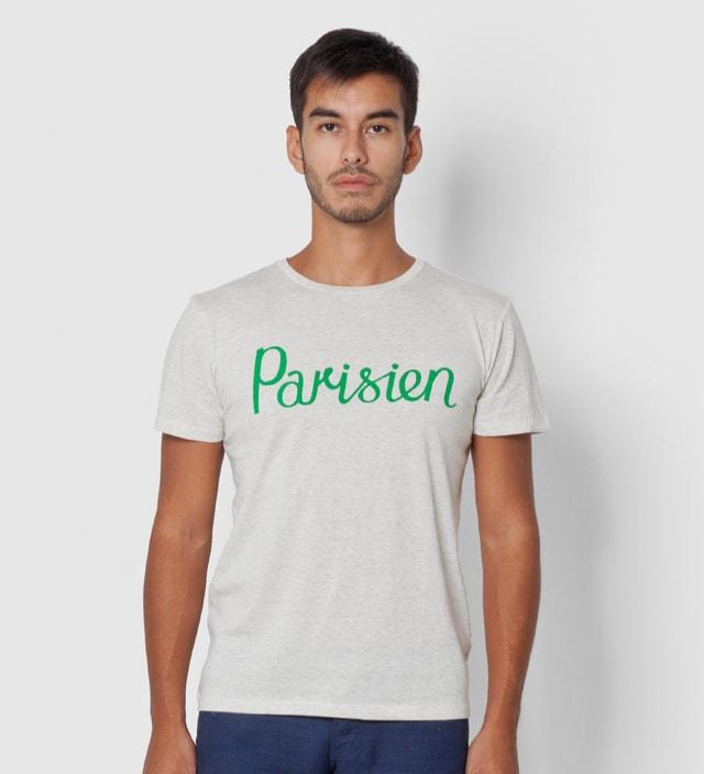 Kitsuné Tee White Melange Parisien T-Shirt