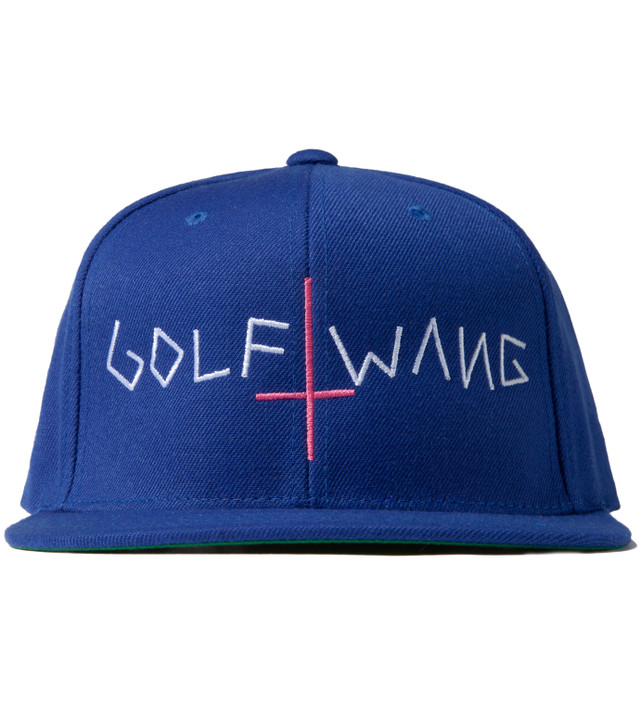 426628cecd69f Odd Future - Royal Blue Golf Wang Snapback Cap