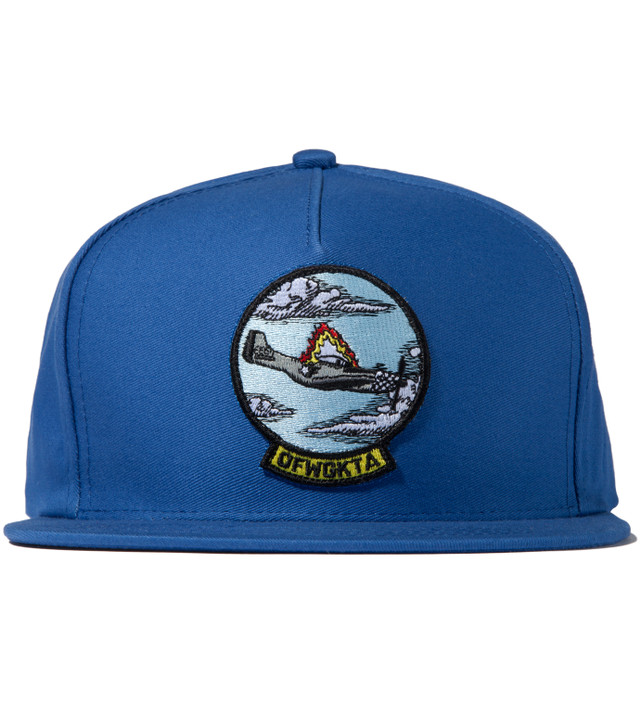 Odd Future Blue Plane Crash Snapback Cap