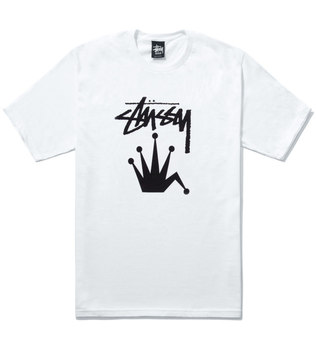d405a30903a Stussy - White Stock Crown T-Shirt