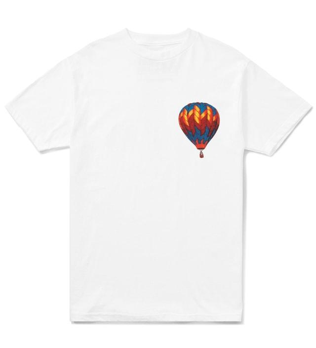 801b3a47bd2f2 White Hot Air Balloon T-Shirt