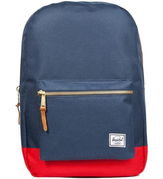 78599d5eca7f Herschel Supply Co. - Navy  Red Settlement Backpack