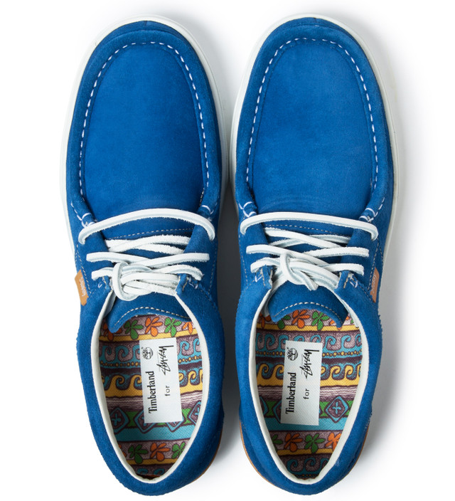 14495fbe48d Blue Timberland x Deluxe Moc Toe