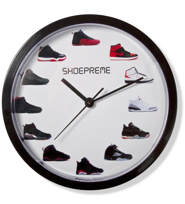 6a4e5fecc150 Shoepreme - Black  White Sneaker Wall Clock