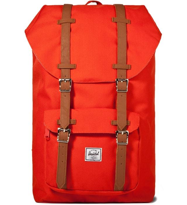 6ce6a7bd08 Herschel Supply Co. - Camper Orange Little America Backpack
