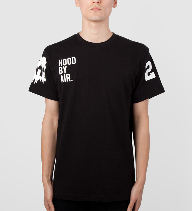 2146b699abc Hood By Air. - Black/White HBA x BEEN TRILL T-Shirt   HBX
