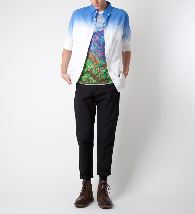 CARVEN Multicolor Mountain Printed Jersey T-Shirt