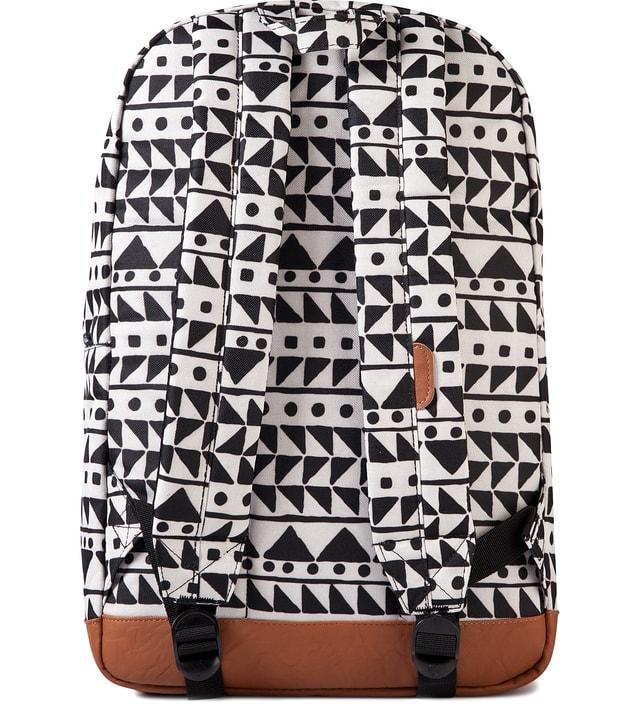 Herschel Supply Co. Chevron Black Leopard Pop Quiz Backpack
