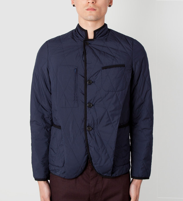 ASSEMBLE Navy AFK4101 Jacket