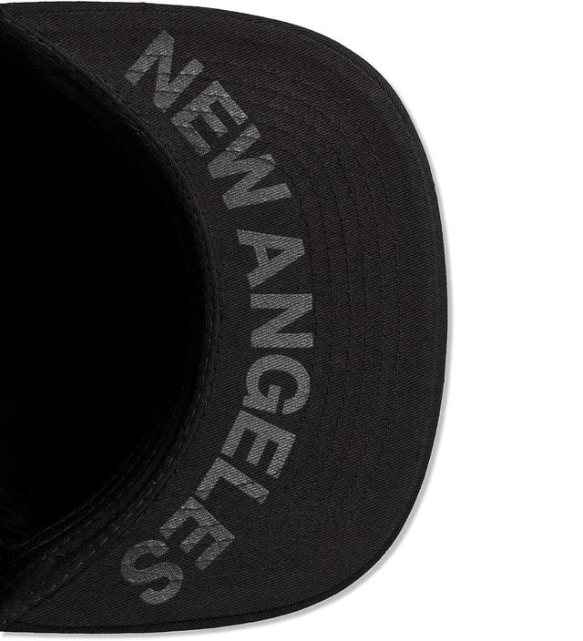Stampd All Black Studded Snapback Cap