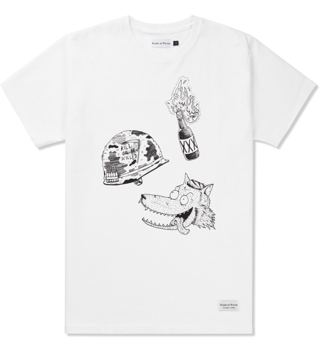 Raised By Wolves White Way Bad T-Shirt