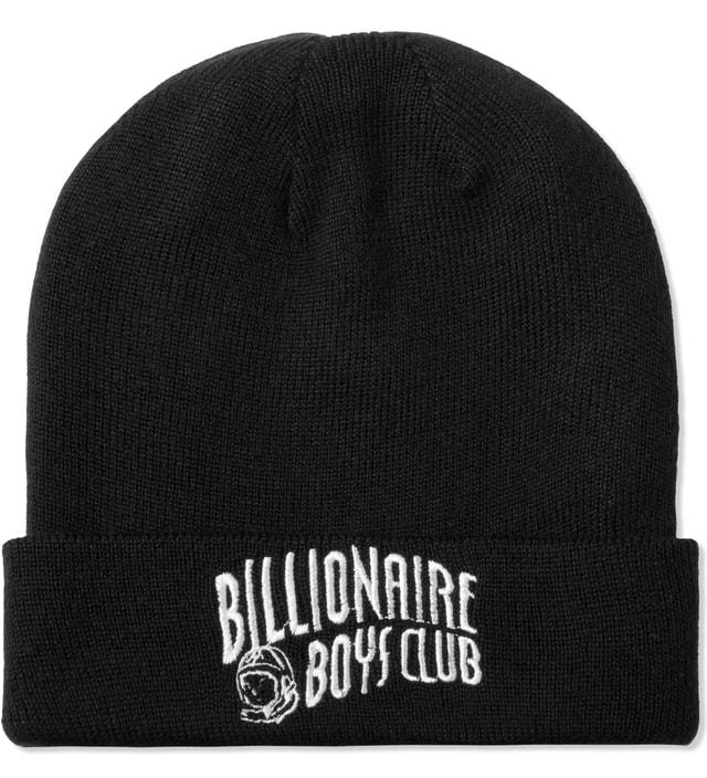 f19655dd0081f Billionaire Boys Club - Black Curve Logo Beanie