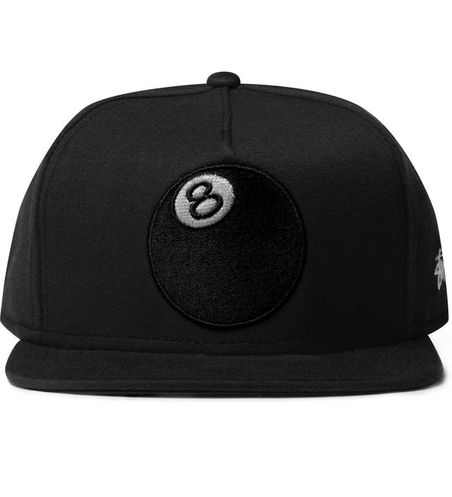 75cf74396a9 Stussy - Black 8-Ball Jersey Cap
