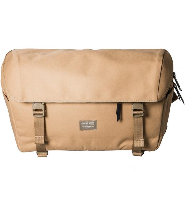 Crafted Goods Tan Carrera Messenger Bag