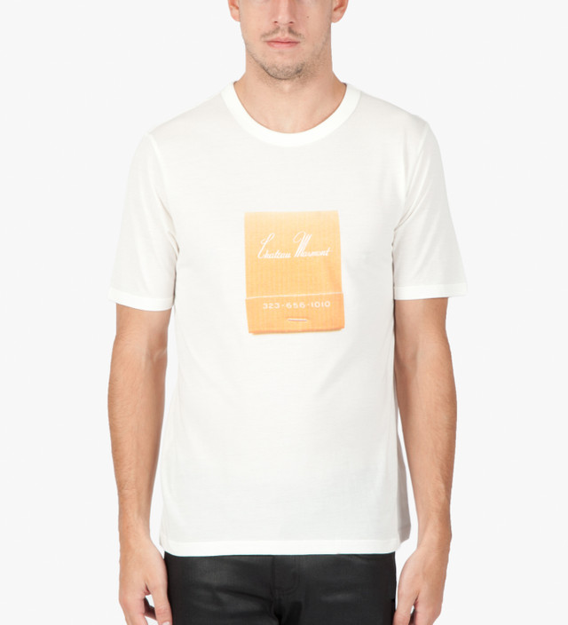 843c483e887 Band of Outsiders - White S S Chateau Marmont T-Shirt