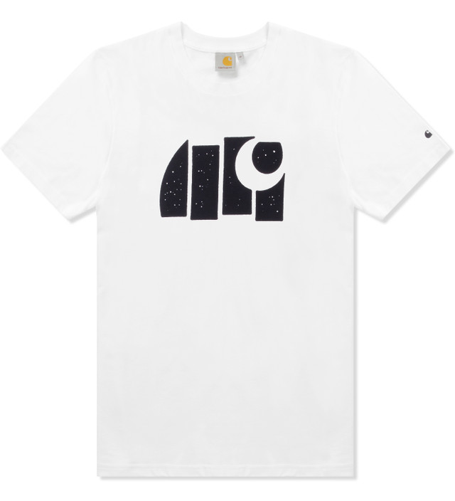 Carhartt Work In Progress White/Black S/S Black C T-Shirt