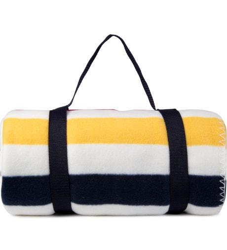 Hudson's Bay Company Multistripe Fleece Throw Blanket