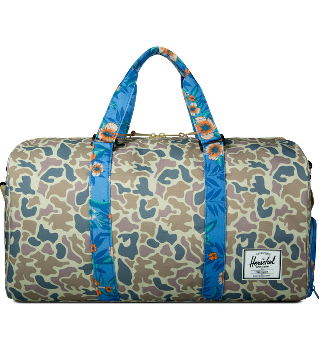 5057840eac50 Herschel Supply Co. - Duck Camo Paradise Novel Duffle Bag