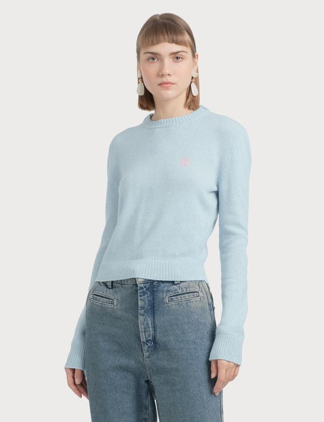 Loewe Short Anagram Sweater