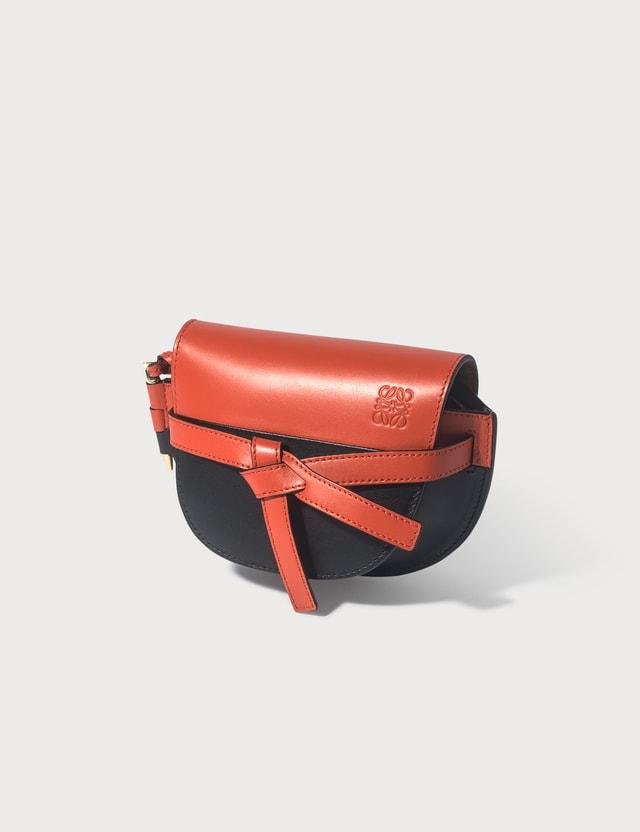 Loewe Mini Gate Color Block Bag